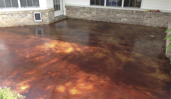 Nwa Dealpiggy Interior Or Exterior Stained Concrete Flooring