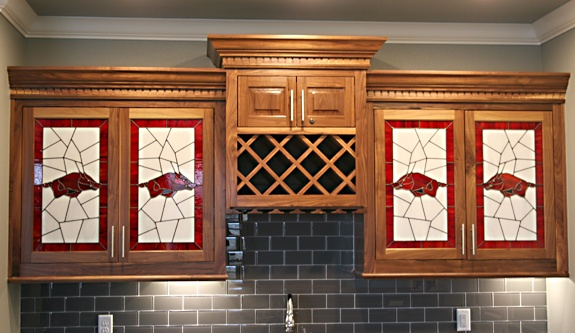 New Stained Glass Cabinet Doors Creative